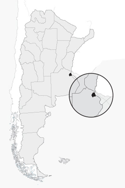 Mapa de CIUDAD AUT. DE BS. AS.